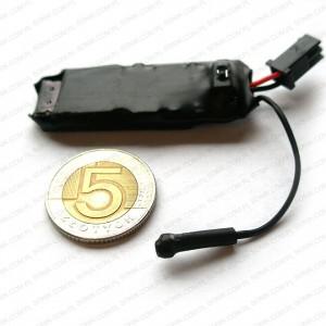 miniaturowy dyktafon zapis na karty microSD